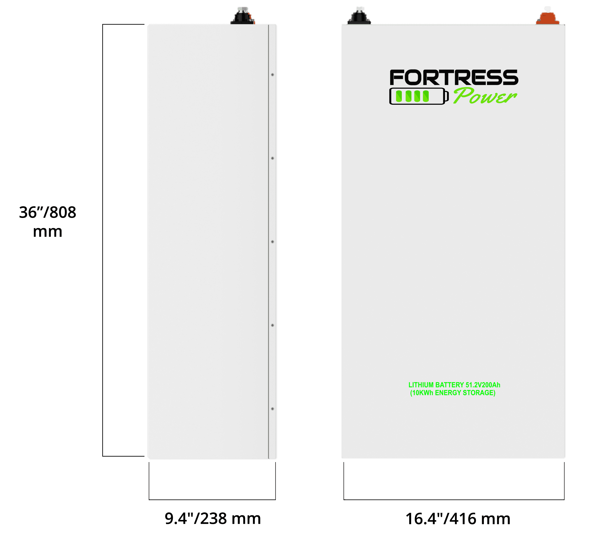 Fortress Battery Specs