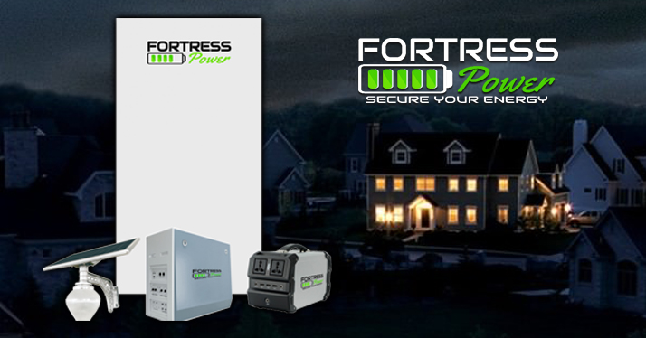 The Fortress Battery Battery Backup Amp Solar Energy Storage