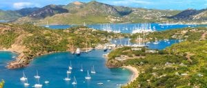 Caribbean islands can benefit greatly from solar power lithium batteries.
