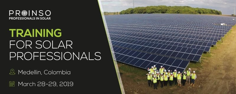 PROINSO Training for Solar Professionals