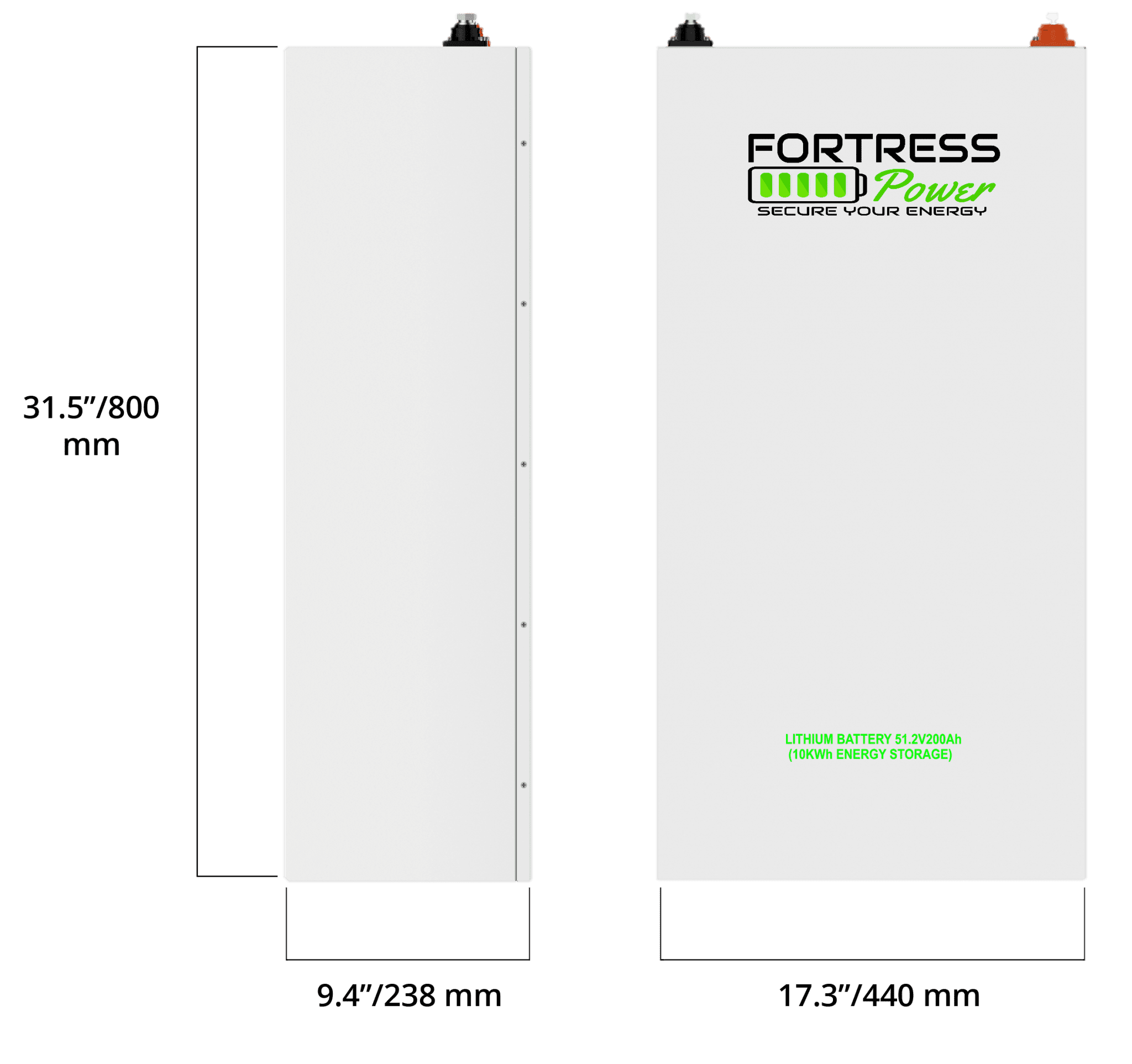 fortress battery specs updated