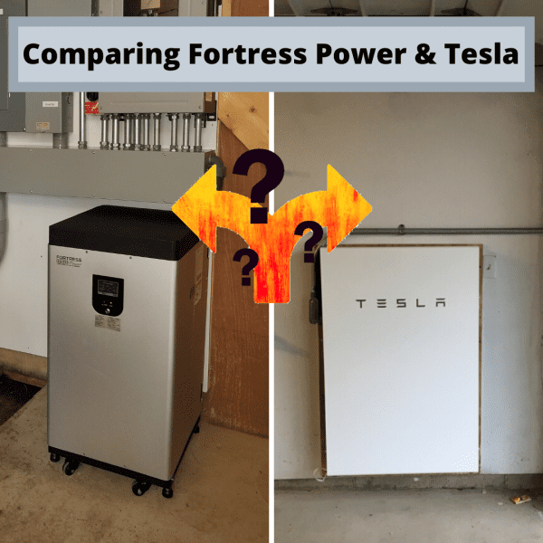 Comparing Fortress Power Tesla 1