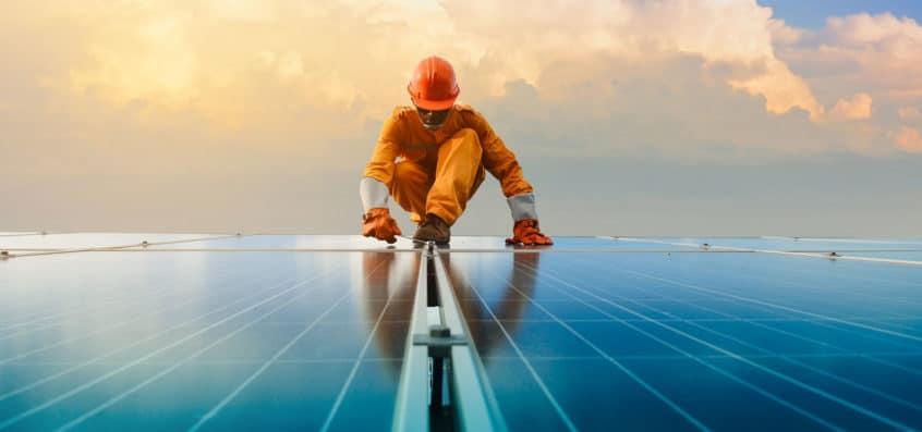solar panel installation 1
