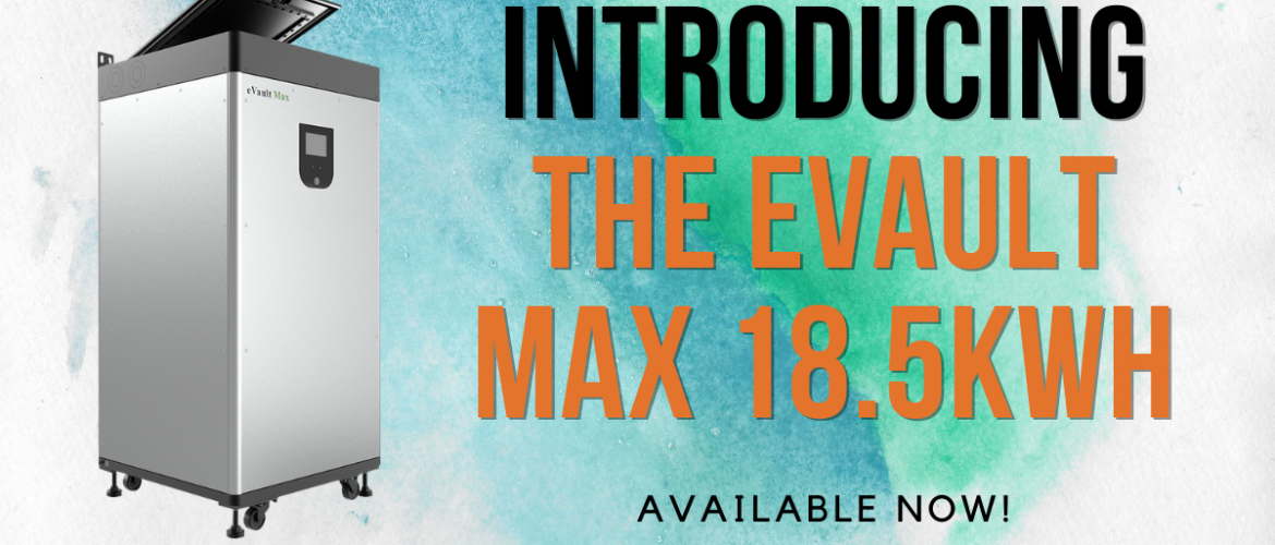 e-valut max 18.5KHW introduction banner